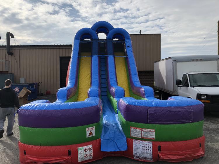 Rainbow Racer #1 Dual Water Slide