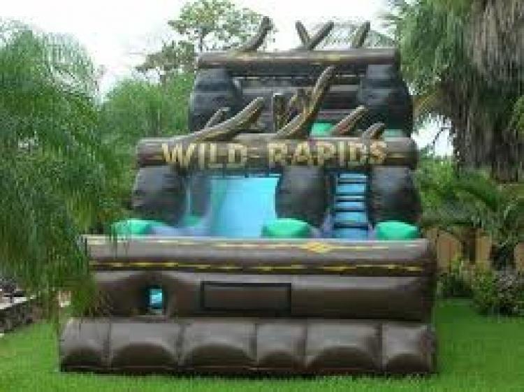21' Wild Rapids Water Slide