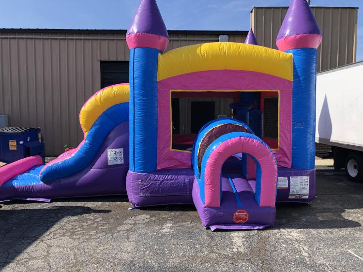 Princess Palace Combo Bounce House and Slide